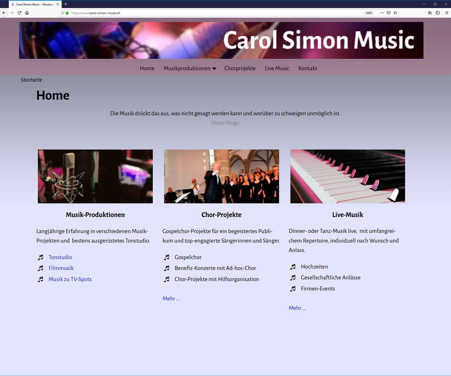 Carol Simon Music